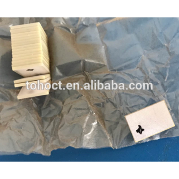 Piezo керамическая плита ЦТС-5ч Тип пьезоэлектрический кристалл ультразвуковой датчик используется для медицинского скальпеля