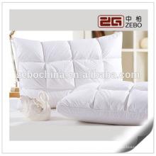 2015 el más nuevo diseño pato abajo de llenado al por mayor Comfort almohada de hotel