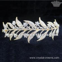 Hot Selling Alloy Crystal Bridal Hair Tairas
