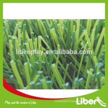 Herbe artificielle de gazon synthétique pour plancher de football LE.CP.031