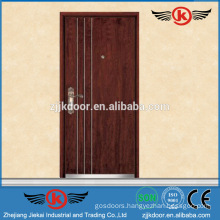 JK-A9010 MDF board modern armored door outside metal iron door