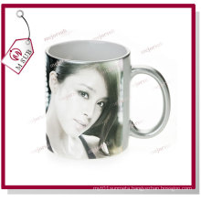 11oz Silver Ceramic Mugs for Sublimation by Mejorsub
