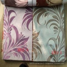 Polyester Jacquard Tissu de rideau Blackout bon marché en Chine