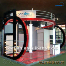 Portable modular 10'x20' Exhibition trade show booth design for free custom made by Shanghai Detian
