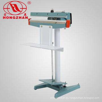 Pedal de marco de hierro sellado de la máquina para el bolso de la película y el papel para el arroz detergente y productos de impresión y Alumunim