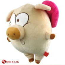 customized OEM design plush dancing pig