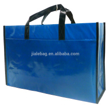 pp nonwoven promotional portable shoulder bag with shiny lamination