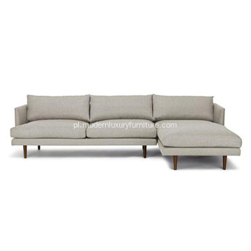 Sofa segmentowa Burrard Seasalt Gray Right