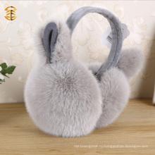 Симпатичные Подлинная кролика Меховые уши с ушами