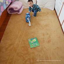 Esteira de jogo de bebê de poliéster de microfibra protetora no mercado