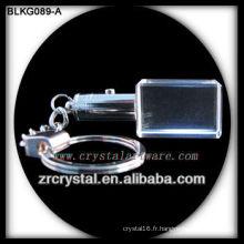 K9 Blank Crystal pour la gravure laser 3D BLKG089-A
