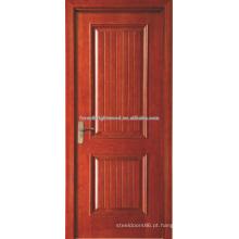 Dois painéis pintados portas MDF folheado de interiores para residência do sulco