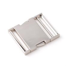 Hebilla de liberación lateral ajustable de metal de 50mm para bolsos de mano
