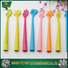 Симпатичные силиконовые шариковые ручки