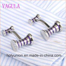 VAGULA Gemelos Men French Shirt Enamel Hammer Cuff Links 356