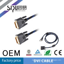 SIPU high quality scart to dvi cable 24+1