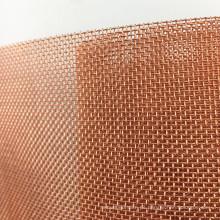 60 80 100 120 200 Mesh Heißer Verkauf Red Copper Mesh Bildschirm für Faraday Cage