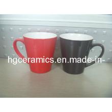 Taza de 11 onzas Latte, taza del cambio del color de Latte
