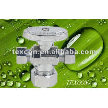 Mini brass angle ball valve Brass Electroplating Chromium