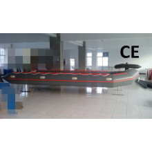 CE Certificate 8m Big Inflatable Boat with Aluminum Floor