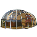 Glass House Restaurant Patio Covers Telescopic Sunroom
