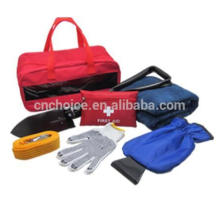 warning safety repair tool kit for car emergency use