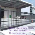 Haus Spielplatz Zaun