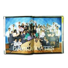Impressão profissional de livro de fotos com capa impressa profissional
