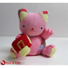 OEM de diseño, la costumbre de juguete de peluche, felpa gato afortunado