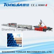Línea de producción de tuberías rígidas de PVC para construcción y suministro de agua