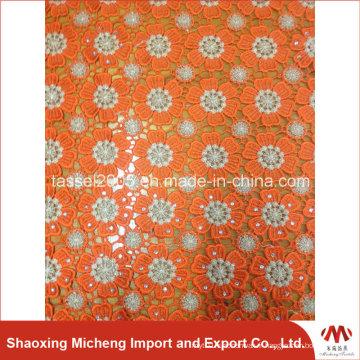 Vente chaude haute qualité Multi couleur Cord Lace