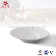 Großhandel Geschirr Bone China Teller Platte weiß Porzellanplatten