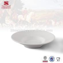 Vajilla al por mayor Platos de porcelana blanca de plato de porcelana de hueso
