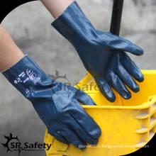 SRSAFETY 2014 поставщик нитрильных химических перчаток / поставщик фарфора с перчатками лучшего качества