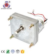 ET-ZGMP38 motor de engranaje plano de gran potencia, motor eléctrico de 12 voltios de corriente continua adaptado para sistema bancario