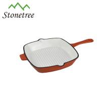 Küche Badgets Emaille Gusseisen Bratpfanne Grill