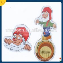 Hot selling wooden fridge magnets for christmas