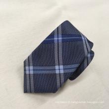 Dernières nouvelles cravates en soie faites sur commande de mens de dessus de mode de jacquard de mode de conception
