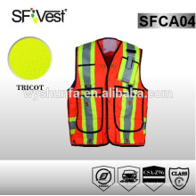Safety Uniform Reflective Safety Vest For Workwear