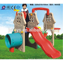 JQC3427 Plastik Kinder Spielplatz / Kinder kombiniert Folie / Vergnügungspark