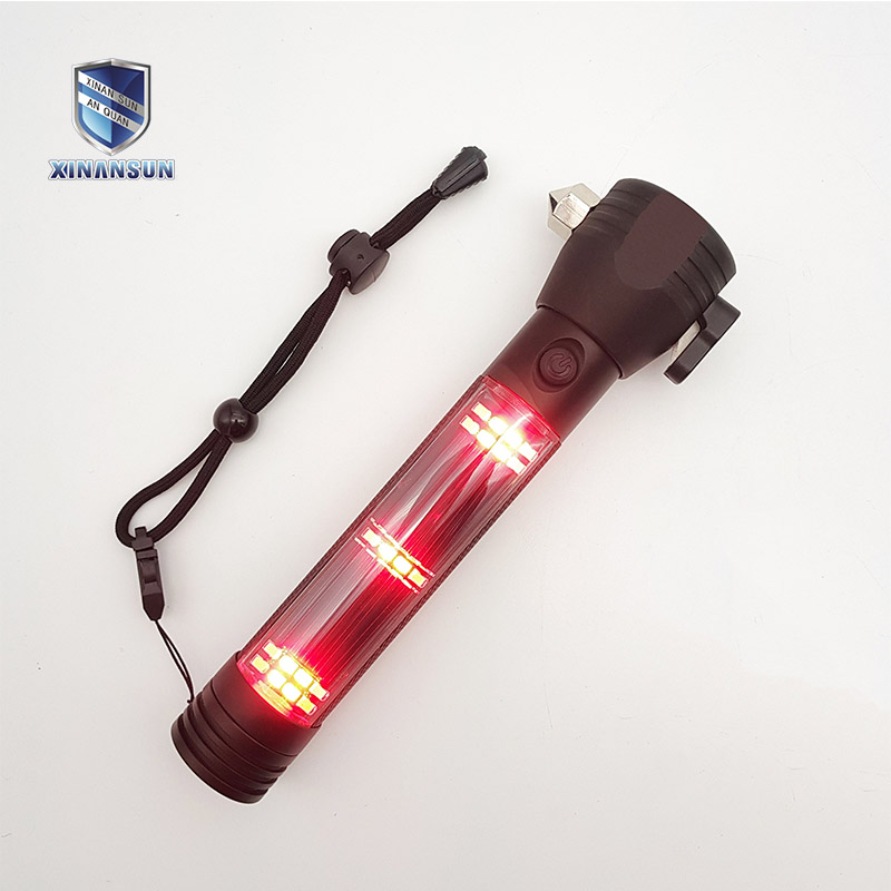 red flashlight solar flashlight