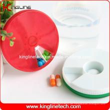 Plastik Runde 7 Tage Pille Box (KL-9067)