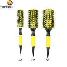Щетка для наращивания волос с деревянной ручкой
