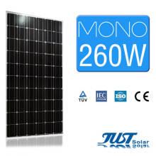 El mono panel solar vendedor caliente 260W para el uso en el hogar