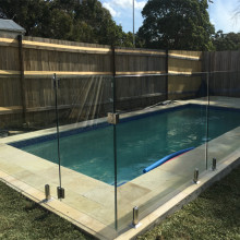 Toughened Swiming Pool Fence Glass Panels