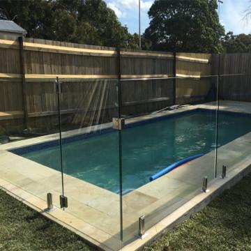 Paneles de vidrio templado para valla de piscina