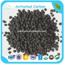 Gros charbon actif sphérique à base de charbon avec l'usine de la Chine