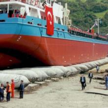 China Airbag de goma marino profesional para el lanzamiento de la nave