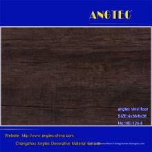 Plancher de vinyle de luxe de ventes chaudes / planchers en plastique de PVC / planches de plancher de vinyle avec la fibre de verre / planchers de carreaux de vinyle Commerical