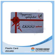 Werbung Promotion Geschenkkarte